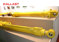 Double Acting Welded High Pressure Hydraulic Cylinder with Piston