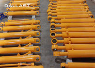 Long Stroke Chromed Fee Double Acting Hydraulic Hoist Cylinder Hallite / NOK Seals