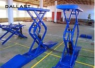 Hydraulic Cylinder Scissor Hoist / Scissor Lift Mechanism Design / Car Lift