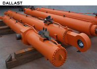 Alloy steel Industrial Hydraulic Cylinder Telescopic Piston Double Acting Dam Gate