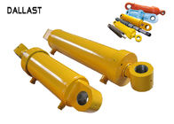 Welded Boom Agricultural Dump Truck Double Acting Hydraulic Ram Medium Pressure