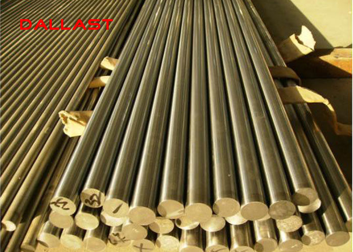 RoHS Chrome Plated Steel Rod , Hydraulic Cylinder Rod Quenched / Tempered SS
