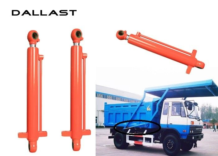 Rubbish Truck  Hydraulic Ram Cylinder Double Acting With Piston