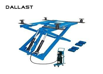Scissor Lifts Hydraulic Hoist Cylinder 3 / 4 / 5 Stage ISO9001 Certification