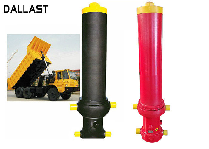 Customized Single Acting Hydraulic Cylinder for Agricultural Dump Truck