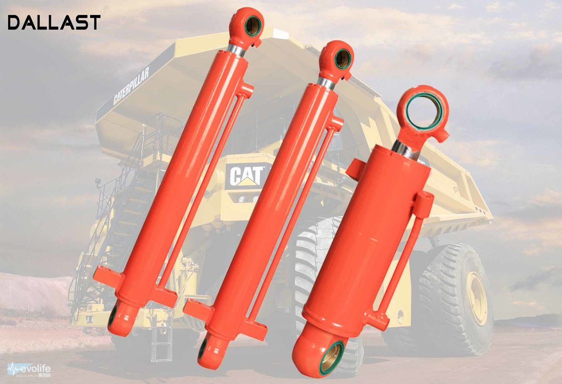 Multistage Double Acting Hydraulic Ram for Heavy Duty Industrial Truck