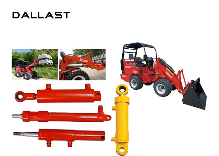 Double Acting Garbage Truck Hydraulic Cylinders for Garbage Truck